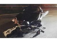 見完客戶爽慶功 汽車銷售員酒駕撞爛BMW
