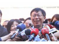 新任台北市長柯文哲:不加入任何政黨 給台灣留下機會