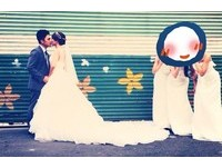 女神張景嵐甜笑陪出嫁 網友:伴娘這麼正很危險