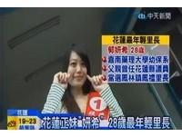 花蓮最年輕里長 28歲大眼妹郭妍希神似白歆惠