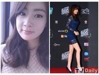 穿1000元禮服被封紅毯最美 韓女星姜素拉造型師竟道歉
