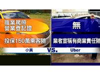 Uber白牌車載客違法!交通部罰百萬擬勒令APP下架