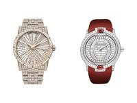 高級製錶也開聖誕趴 紅金白好閃亮