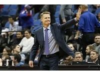 NBA/勇士開季19勝2敗 菜鳥教頭柯爾創紀錄