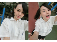 陳子璇校花女兒喜多白嫩臉+粉紅唇 自洩17歲戀愛史