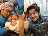 恭喜!妻剖腹產第3胎 陳浩民喜迎小女兒:我要更努力