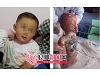 上海瘋房東騷擾人妻不成 滾燙沸水淋她1歲兒