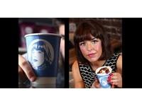 尋愛出新招!蘇格蘭女臉印1000咖啡杯送給有緣人