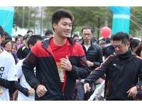 路跑/李振昌出席富邦馬拉松 期許明年一直待在大聯盟