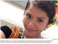 8個月孕婦被剖腹 墨西哥墮胎少女辣手取嬰