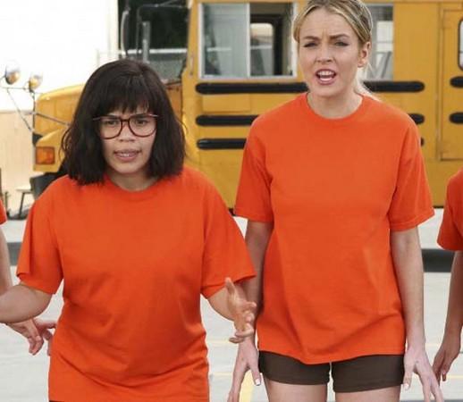 琳赛萝涵拍戏杠丑女贝蒂 9组好莱坞超级大冤家