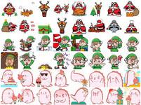 叮叮噹!WeChat 聖誕貼圖即日開放免費下載