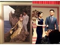 林依晨換3套絕美婚紗!被老公「套上婚戒」大螢幕放送