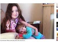 6歲超萌小蘿莉還在喝母乳 英國媽:會餵到她不喝為止