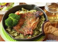 綠薄荷美式創意料理 承襲美式的大份量卻健康不油膩