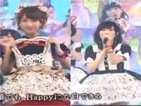 紅白歌合戰/糗!AKB48表演一半 鏡頭跳到更衣室去...