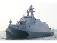 海軍元旦戰備巡弋 「沱江艦」西南海域首度操演