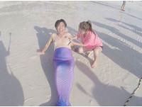吳宗憲第一次扮美人魚 結果...魚尾掉了