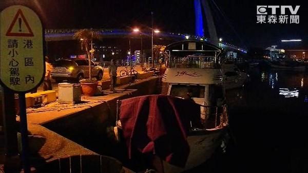 淡水渔人码头与朋友聚餐 外籍男喝醉落水身亡