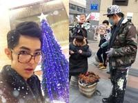 汪東城冷天幫路邊老婆婆叫賣宣傳 善心卻被網友批作秀