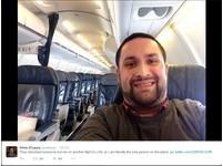 空姐都是我der~ 班機延誤紐約客爽搭「私人專機」