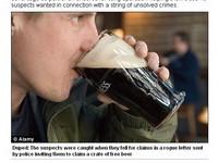 英警察搞「免費啤酒陷阱」 詐逮19名逃犯