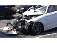 酒駕又害命!BMW高速撞上聯結車釀2死