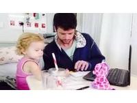 不忍2歲女兒罹癌受苦 慈父「餵食大麻被捕」引3萬聲援