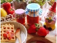 天然無色素 鄉村風手工草莓果醬