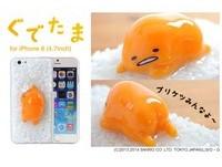 APP01/不要趴在手機上! 蛋黃哥立體手機殼來啦