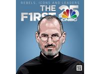 CNBC 公佈「全球 25 位最具影響力人物」賈伯斯與王雪紅入榜