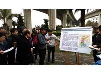 陳建宇考察台中 將核定山手線鐵路雙軌高架化