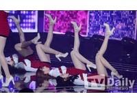 貼地抬美腿太色? 韓女團Nine Muses新歌慘遭「喀擦」