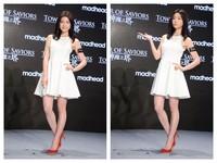 陳妍希消腫秀V臉 甜笑自招:現在是史上最瘦!