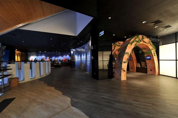 ▲北投曾是凯达格兰族生活的土地,在凯达格兰文化馆内可以看到有关
