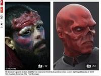 瘋狂漫畫迷割鼻頭 只為改造成真實版的「紅骷髏」