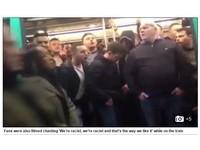 「我們就是種族歧視!」 英足球迷在巴黎地鐵霸凌黑人