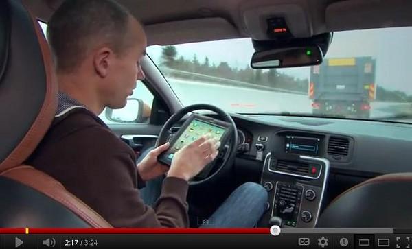 d96537 低頭族福音? 無人駕駛車上路測試 最快3年上市