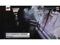 美國巴士司機開到睡著 失控衝下坡連撞8輛車