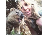 短尾矮袋鼠永遠看起來好開心,和牠自拍能不笑嗎?(圖/pix Media/CFP)