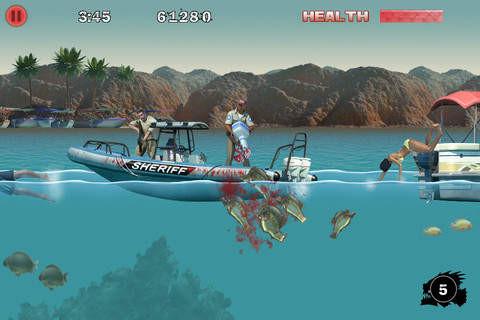 d97522 好開腥! 《3D食人魚2》遊戲APP上架