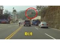 台21線自行車隊練車逆向闖紅燈 民眾PO網投訴