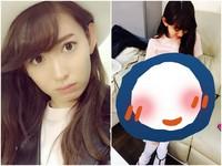 AKB48小嶋陽菜最愛扮成OO 嘟翹唇曬嫩白美腿辣照