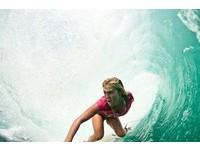 虎鯊咬斷手臂沒在怕 美國辣媽懷胎6月照樣衝浪