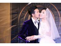直擊/Darren結婚了! 見未婚妻披爆乳婚紗大喊:水啦