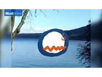尼斯湖出現巨大水波? 母女捕捉水怪新影像