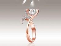 愛到心坎裡!珠寶美到像朵心形花