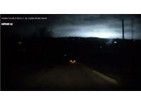 路燈熄滅 俄羅斯夜空出現神秘無聲閃光