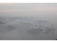 日本單車「跳島旅行」 遠眺來島海峽大橋美得像仙境!