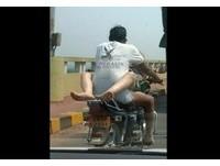 印度超飢渴情侶沒有極限 「騎車做愛扯圖」網路瘋傳